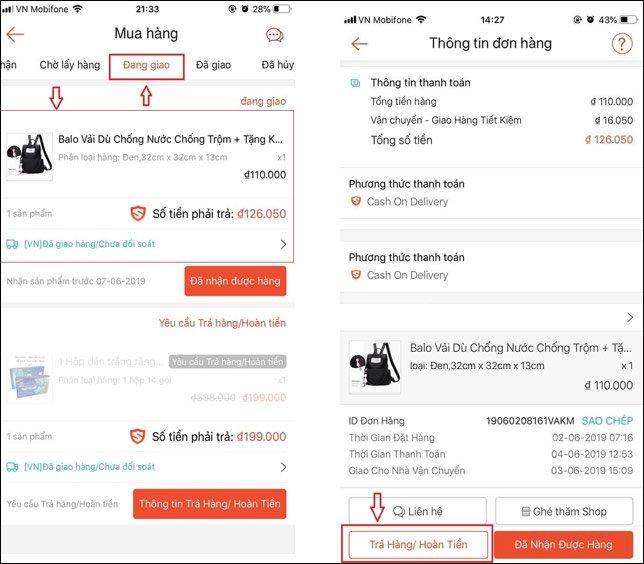 Shopee giao thiếu hàng và cách xử lý lấy lại tiền
